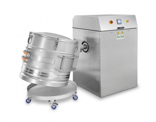 Mixomat C-HE Drum turner for highest requirements