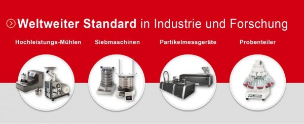 Innovations at ACHEMA 2018 • Hall 4.1 • Booth J49 FRITSCH • Milling and Sizing!
