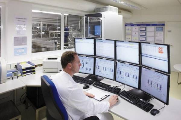 AZO CONTROLS at the ACHEMA  shows solutions around the production control system Kastor