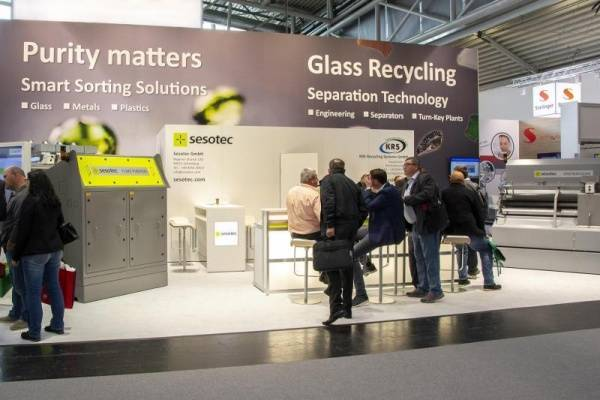 IFAT 2018 Presentation Platform for Smart Sorting Solution Promising future prospects for the recycling industry