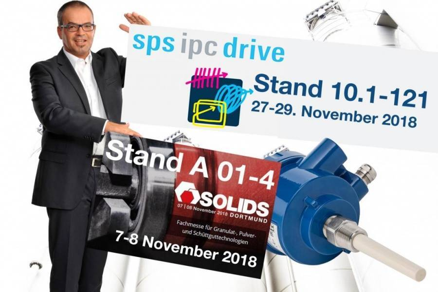 SOLIDS & SPS - Meet us with your free entry voucher  A good opportunity to get to know our new liquids line