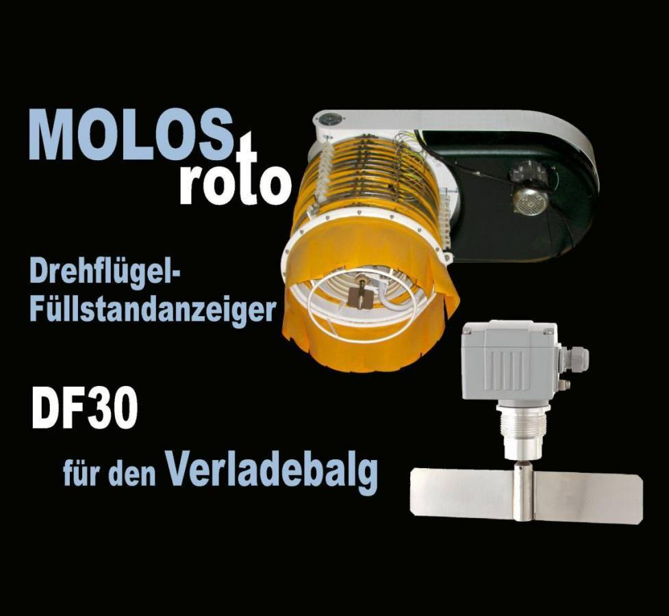 MOLOSroto for the loading bellow Fast and reliable switch off for the loading process of trucks and ships!