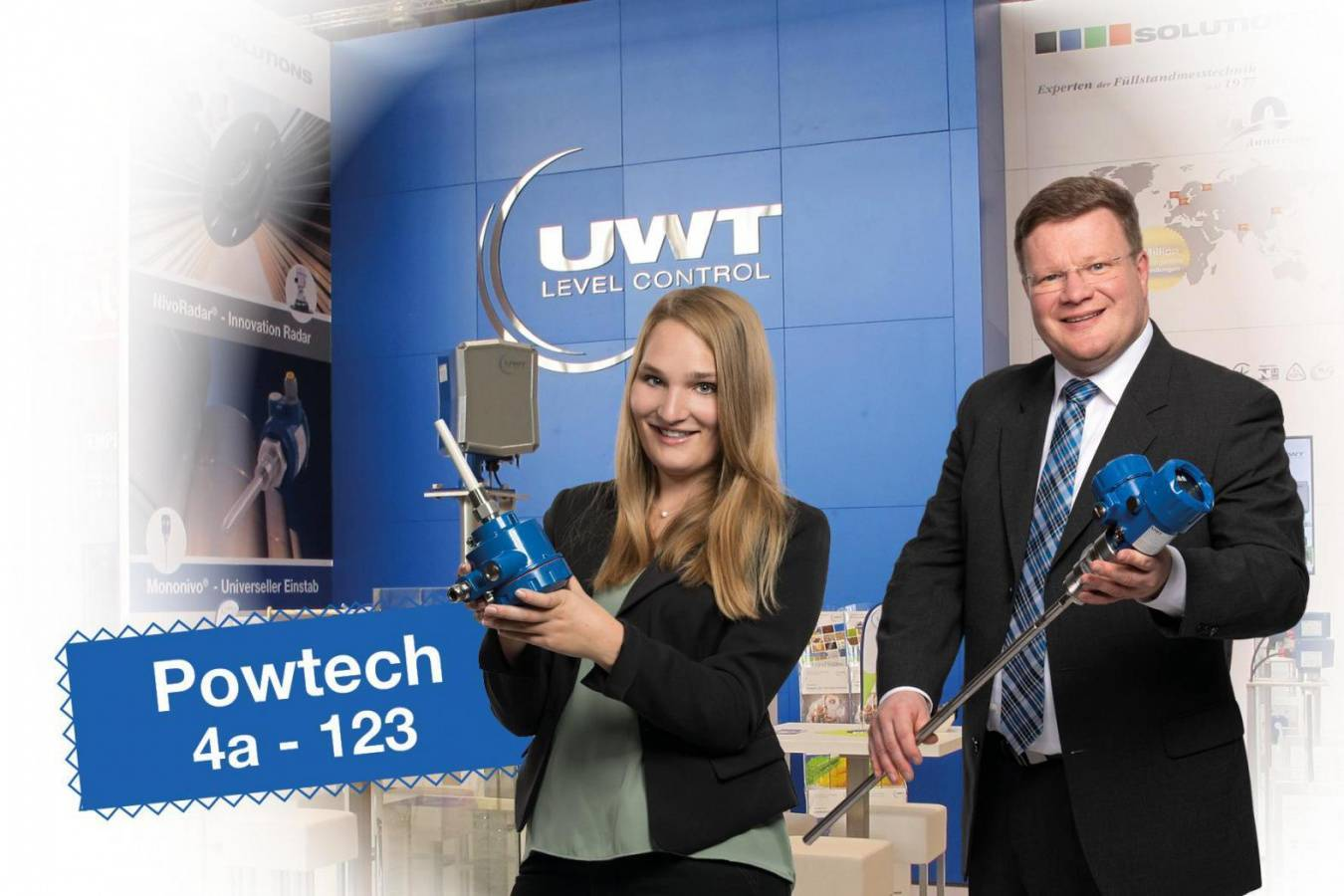 POWTECH 2019 – 3 eventful days await us UWT is looking forward to an exciting exhibition with lots of visitors and discussions