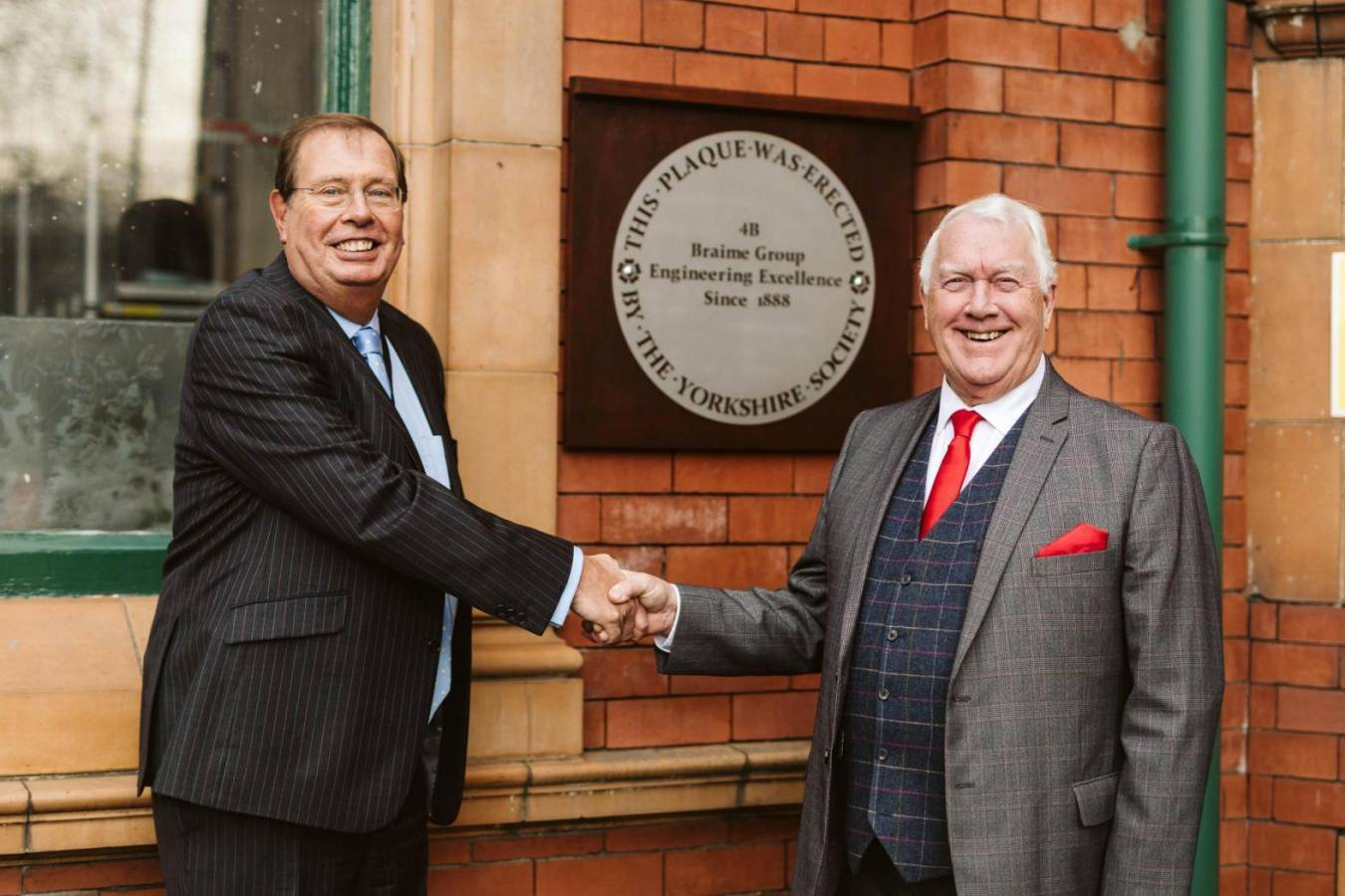4B Braime Group awarded Yorkshire Plaque of Engineering Excellence