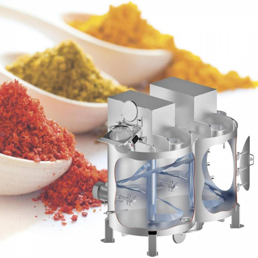 amixon® mixers for spice blends