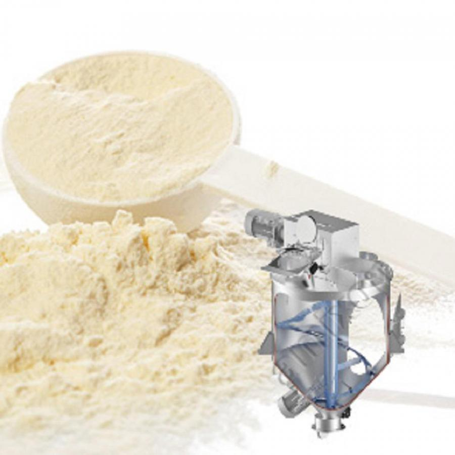 amixon® single-shaft mixer for nutritional supplements