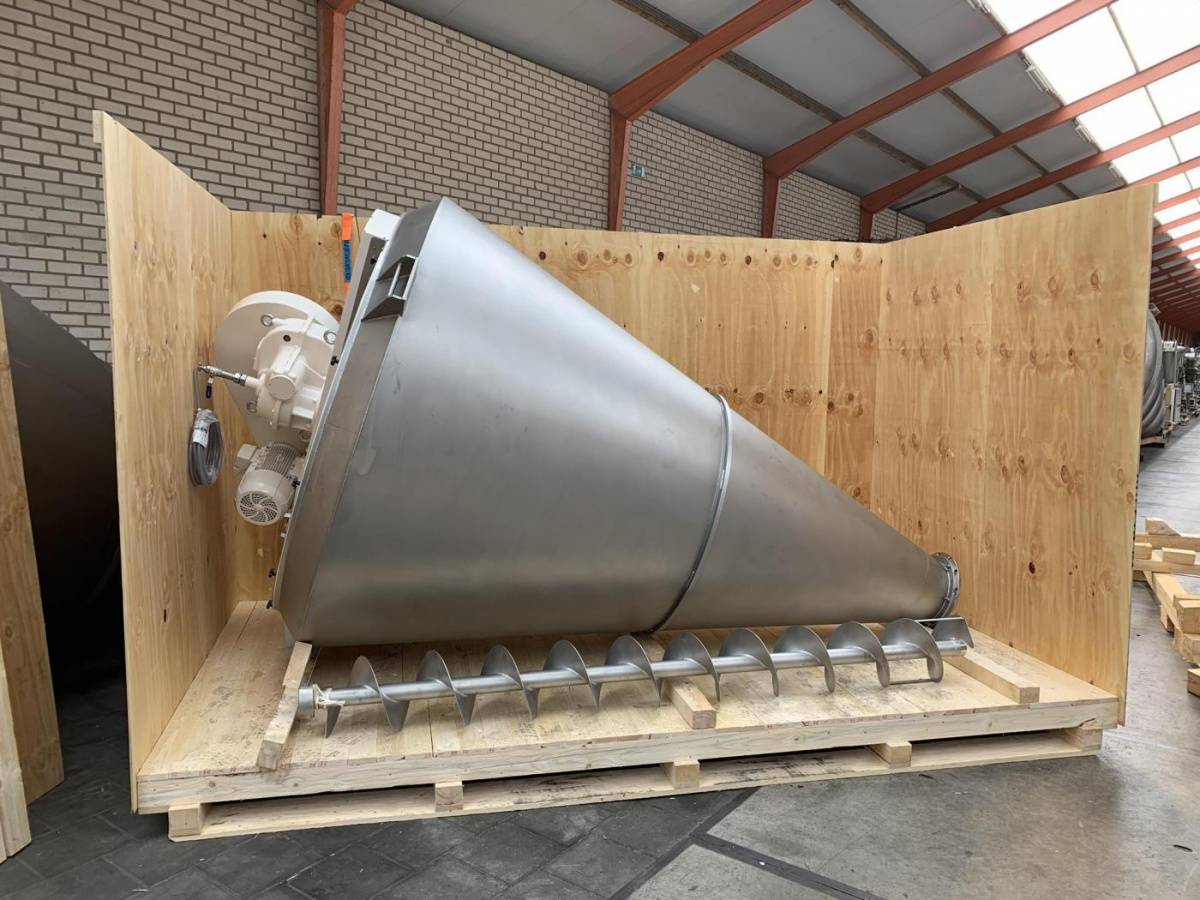 Foeth's brand new conical mixers sold to Brazil & Africa